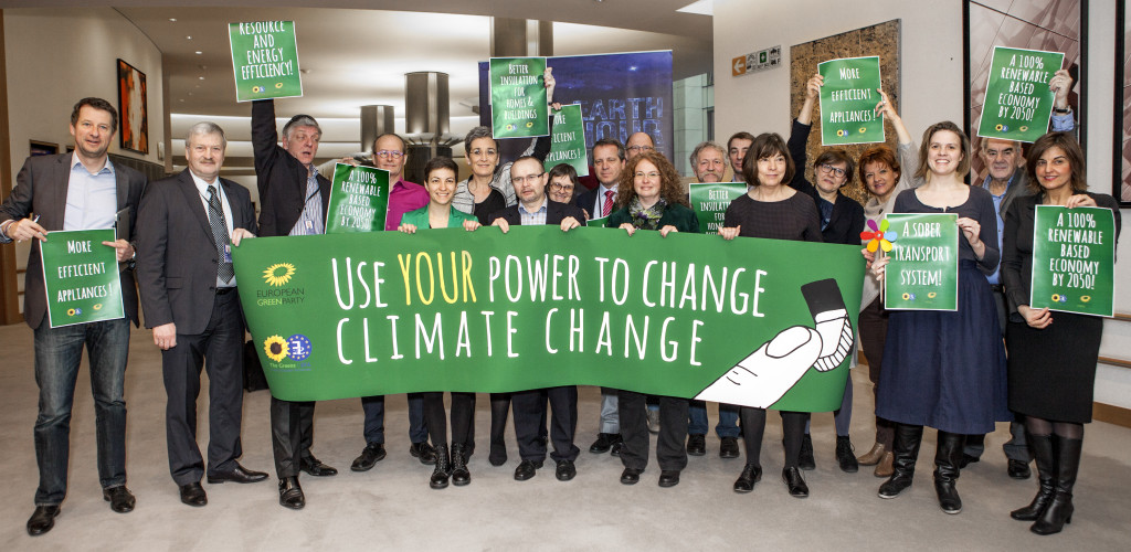 Earth Day everyday - Greens in the European Parliament are fighting hard for tough action on climate change