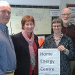 Molly Scott Cato attends a Renewable Energy Fair in Somerset